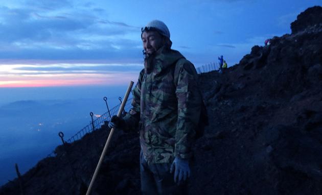 富士山登頂に挑戦
